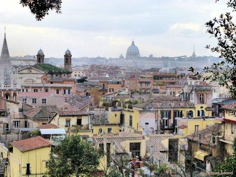 La villa m dicis rome d ception for Jardin villa medicis rome