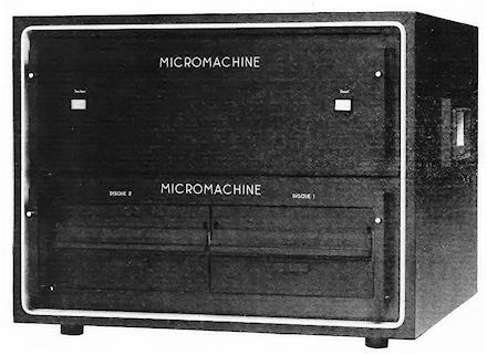 Ordinateur Symag Micromachine-2000
