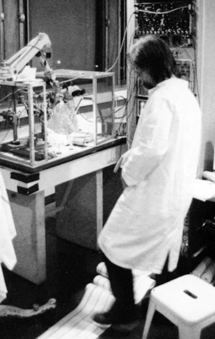 poste d'expérimentation en électrophysiologie