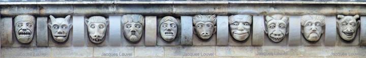 Modillons à Vézelay