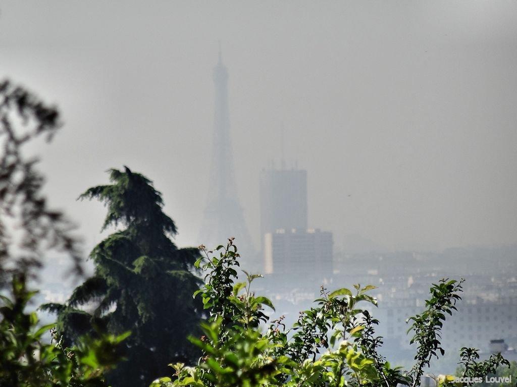 Paris tour eiffel pollution quotidienne for Garage paris ouest argenteuil