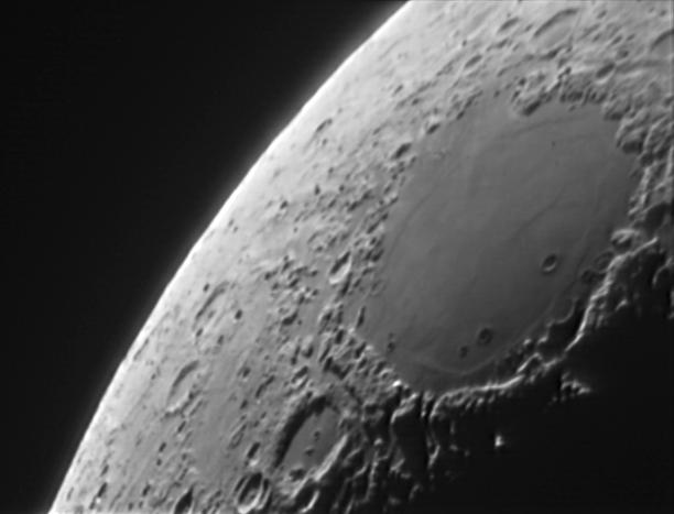 La lune : Mer des Crises