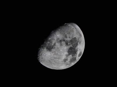 La Lune en octobre 2016