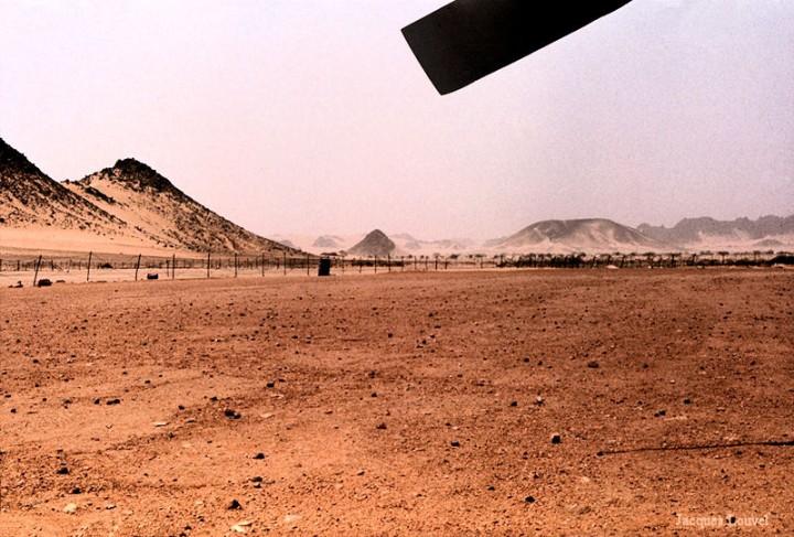 Tassili n'Ajjer : aéroport de Djanet
