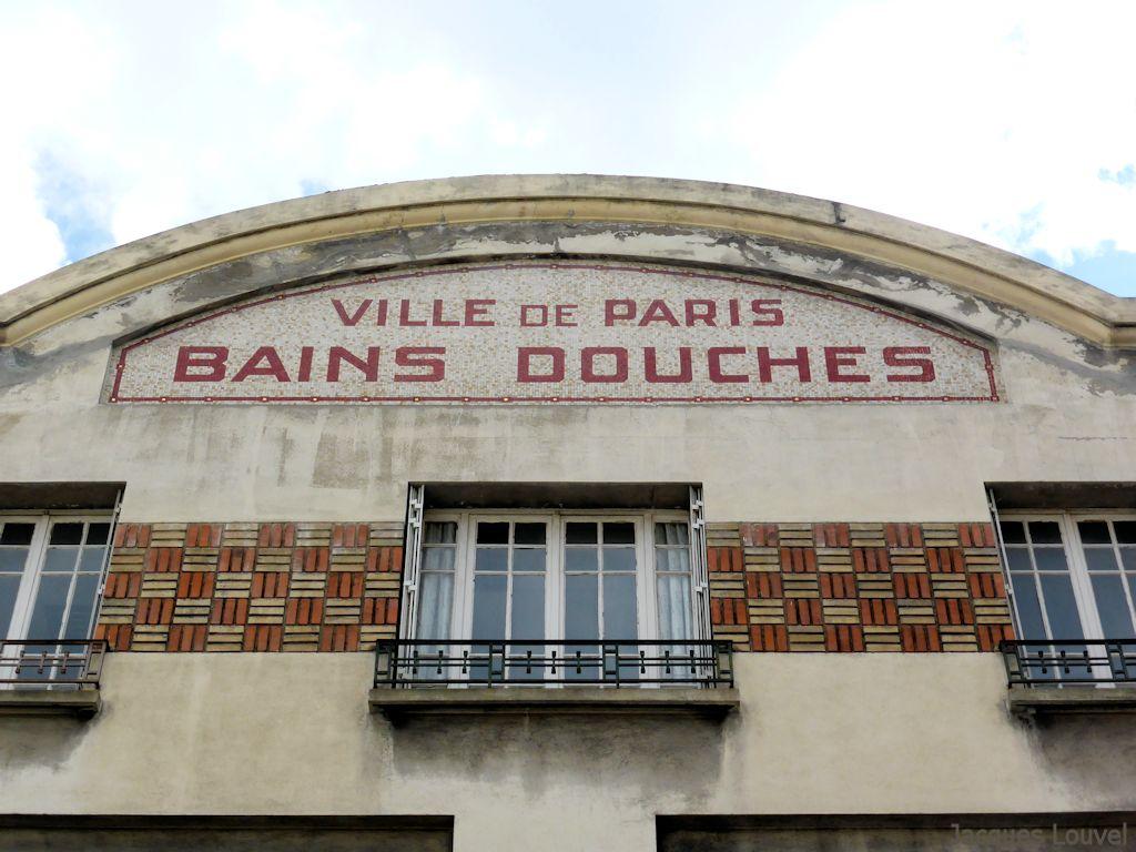 Paris m nilmontant - Bains douches municipaux ...