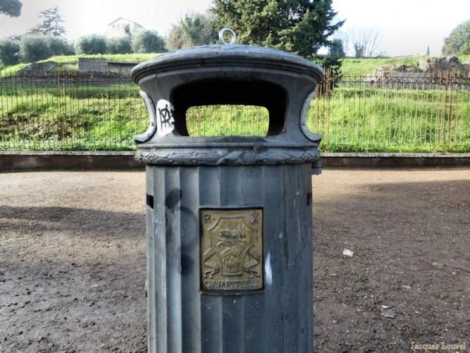 Les poubelles de Rome